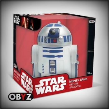 TIRELIRE STAR WARS BUSTE R2D2
