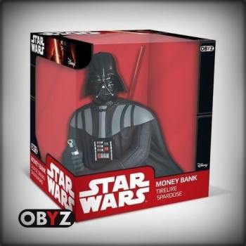 TIRELIRE STAR WARS BUSTE DARK VADOR