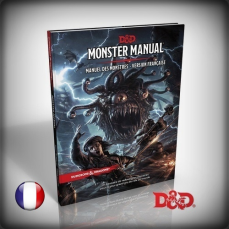 DUNGEAON & DRAGONS : MONSTER MANUAL - MANUEL DES MONSTRES