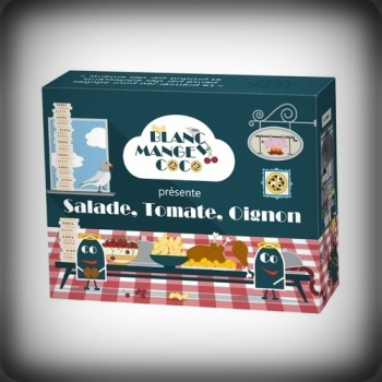BLANC MANGER COCO :SALADE TOMATE OIGNON