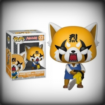 POP AGGRETSUKO WITH CHAINSAW