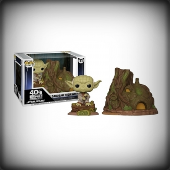 POP DAGOBAH YODA WITH HUT