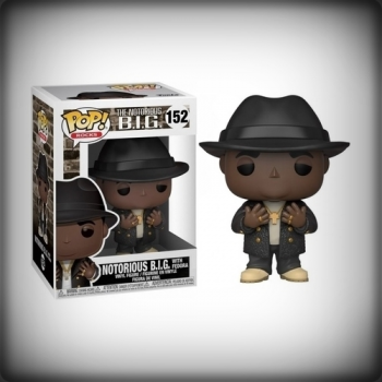 POP NOTORIOUS B.I.G. WITH FEDORA
