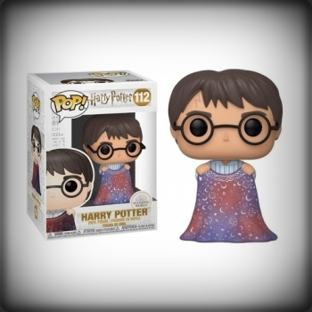 POP HARRY POTTER AVEC CAPE D'INVISIBILITÉ