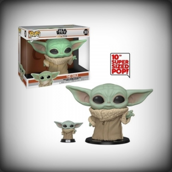 POP THE MANDALORIAN - BABY YODA (THE CHILD) 25 CM