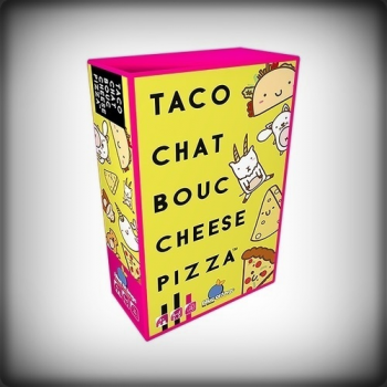 TACO CHAT BOUC CHEESE PIZZA [►]
