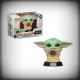 POP THE MANDALORIAN - BABY YODA WITH CUP (THE CHILD)