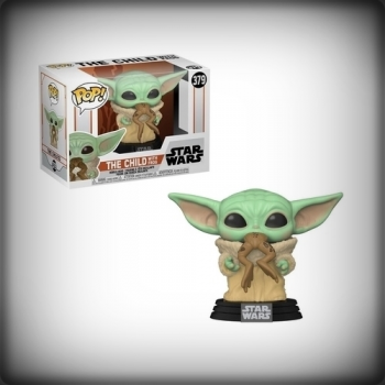 POP THE MANDALORIAN - BABY YODA WITH FROG (THE CHILD)