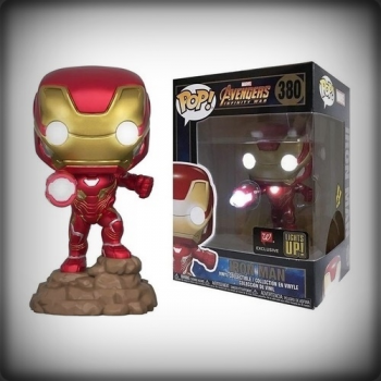 POP IRON MAN LUMINEUX